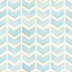 Removable Wallpaper - Faded Blue Chevron - WallsNeedLove