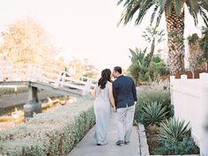 Venice Beach Canals Engagement Photography | Janice   Ben