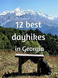 Would you like to explore some of the most beautiful places of Caucasus but you dont enjoy camping or walking with 20 kilos on yours back Then look no further this is the list for you the best hikes in Georgia doable in a day Places To Travel, Travel Destinations, Places To Go, Camping Places, Weekend Trips, Day Trips, Camping In Georgia, California Camping, Southern California