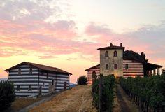 Sorge l'alba sul castello di Borgonato #franciacorta #wineplace
