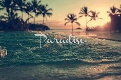 Image about paradise summer beach in Frases by Mariana Spring Break, Photo Summer, Summer Loving, Pink Summer, Summer Beach, Hello Summer, Ocean Beach, Ocean Waves, Beach Bum