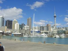 Viaduct Harbour, Auckland City. World Famous, Auckland, Cn Tower, New Zealand, Sailing, City, Places, Travel, Candle