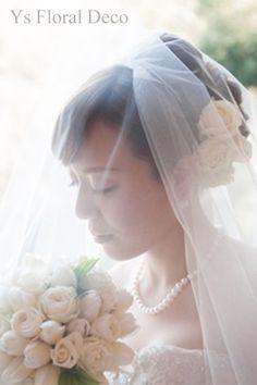 チューリップとラナンキュラスのラウンドブーケ @八芳園 ys floral deco