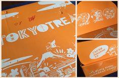 Tokyo treat box  | Cookies, tea & makeup