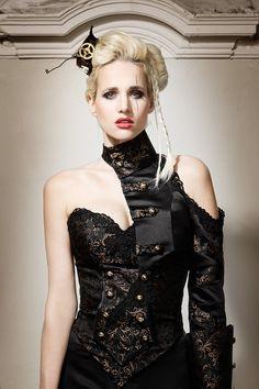 Steampunk Bridal Style