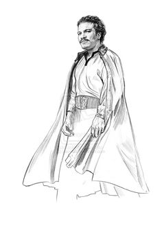 Lando Calrissian by jasonpal on DeviantArt Star Wars Characters, Star Wars Episodes, Ultimate Star Wars, Lando Calrissian, Original Trilogy, The Best Films, The Expendables, The Empire Strikes Back, The Force Is Strong