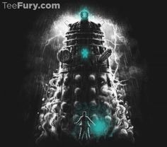 Get This Parody Doctor Who / Dalek Design now at TeeFury.com! Available in Men and Women's sizes. @teefury