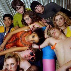 Skins (UK) Season 1&2 brilliant cast.