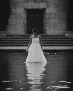 Brides and water are a perfect combination