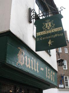 The Old Curiosity, Holborn, London, London's oldest shop