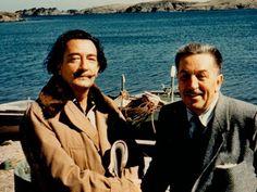 Salvator Dalì and Walt Disney.