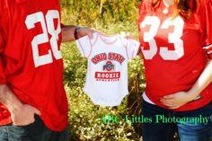 Maternity photos, Ohio State, buckeyes, THE Ohio State, OSU
