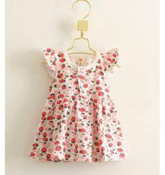 JQL Dress - Strawberry - sadinashop.com  Dress atau gaun bayi dan anak.