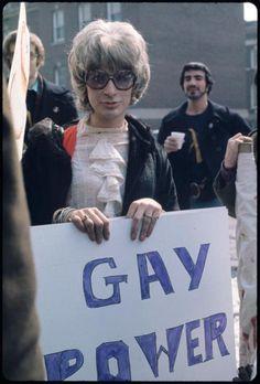 trans activist Sylvia Rivera in the Rent Musical, Sylvia Rivera, The Normal Heart, Trans Activists, Lgbt History, Gay Pride, Human Rights, Transgender, Role Models