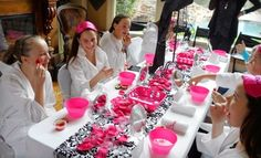 Glamour Avenue Parties: Sophisticated Tween Birthday with Spa Party for Girls