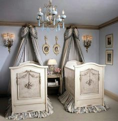 Twins nursery: LOVE THE GOTHIC LOOK!!!!!!! My fav. inspiration!