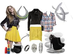"""""""Inspired Look, Blake Lively"""" by rafaelage ❤ liked on Polyvore"""