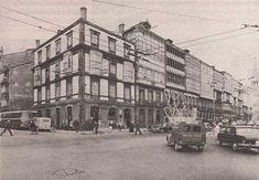 PLAZA DE MINA ESQUINA CALLES COMPOSTELA Y JUANA DE VEGA,AÑO 1.967 Santa Cristina, Parking, Plaza, Street View, Mina, Bowrider, City, Street, Parking Space