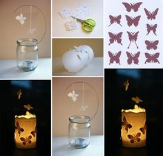 Magical DIY Floating Butterfly Luminary - http://www.amazinginteriordesign.com/magical-diy-floating-butterfly-luminary/