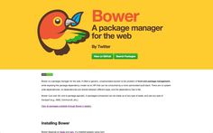 I wanted to show how easy it is to get Bower and Polymer setup. I love Bower but lots of folks find it confusing and that's totally understandable, so in thi. Management, Tips, Archive, Counseling