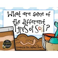 SCIENCE FREEBIE: WHAT ARE THE DIFFERENT TYPES OF SOIL?  Are you learning about rocks and soils?  This ebook is for YOU!  This is a great way to introduce some of the different types of soils. From sponsor @educents #afflink
