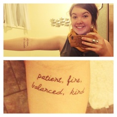 another quality skinny love tattoo. I really like the use of these lyrics for a tattoo.