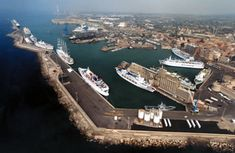 Civitavecchia Port  Rome, Italy