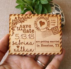 Save the date, save the date magnet, rustic save the date, save the dates, wood save the date magnet, postcard save the dates, set of 10 pc. Our laser engraved wooden save the date magnets are a great way to announce your wedding. They are made with love and attention to detail