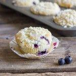 Lemon Blueberry Greek Yogurt Muffins