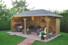 Outside poolside ideas on pinterest tiki bars outdoor kitchens and outdoor bars - Prieel tuin ...