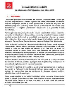 I'm reading Codul-de-etică-și-conduită-al-PSD.doc on Scribd