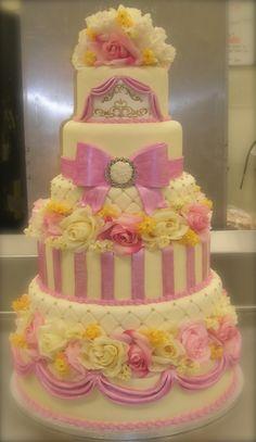 wow, let them eat cake Beautiful Cupcakes, Gorgeous Cakes, Pretty Cakes, Amazing Cakes, Take The Cake, Love Cake, Wedding Cake Designs, Wedding Cakes, Dream Cake