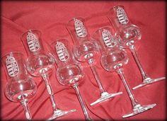 Kézzel gravírozott grappás poharak
