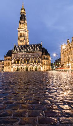 Arras Belfry after the Rain by Clement THERIEZ on 500px