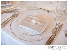 Binita Patel | Alden Castle Showcase #AldenCastle #ModernVintage #Wedding #NapkinFold
