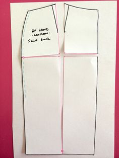 Kim Dress Sewalong - Alterations - Full butt adjustment (Variation 1 o – By Hand London