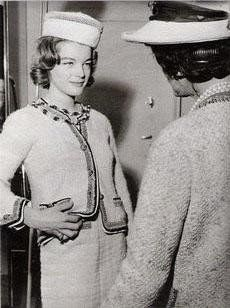 In 1961 Austrian born German actress Romy Schneider visited CHANEL  31, Rue Cambon Paris. where she was fitted for tweed suits by Coco . Th...