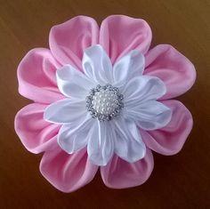 Fiore doppio kanzashi