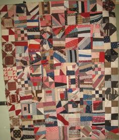 COTTON CRAZY ANTIQUE QUILT TOP
