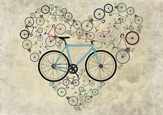"""I Love My Bike"" by Andy Scullion 