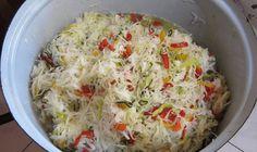 Recept na domácí Čalamádu Dnes se s Vámi chci poděli o skvělý recept na výbornou domácí čalamádu, která chutná stejně jako zelný salát. U nás doma je tento recept nesmírně oblíbený a mizí ze stolu rychlostí blesku. Na přípravu domácí čalamády budeme potřebovat: 2,5 kg hlávkového zelí 1 kg papriky 0,5 kg cibule 0,5 kg […] The post Čalamáda na studeno – nejlepší recept jaký znám: Žádné zavařování ani vaření! appeared first on Příroda je lék. Cheeseburger Chowder, Preserves, Pickles, Tapas, Mashed Potatoes, Cabbage, Grains, Good Food, Food And Drink