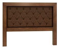 Mandir Queen Upholstered Panel Headboard