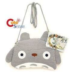 Totoro Mini Wallet Bag with Shoulder Strap