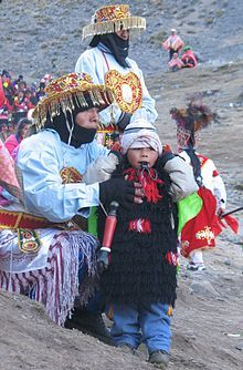 Wiki article on the indigenous population of Peru