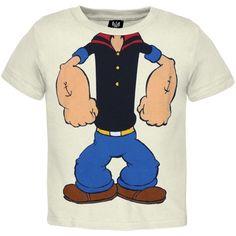 Popeye - No Head Toddler Costume T-Shirt