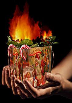 Xmas-Gift : Deforestation by Consumerism image stock: Pixabay image effects: Gimp image effects: Picasa Xmas-gift Xmas Gifts, Deviantart, Picasa, Holiday Gifts