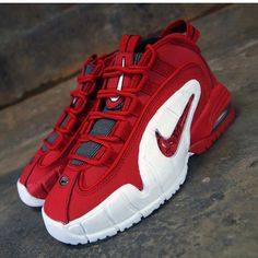 Nike Air Max Penny 1 University Red Release Date University Red White Black  685153 600 1379f3c98c7