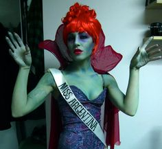 Miss Argentina costume  Beetlejuice Just possibly the most awesome costume ever!!!