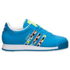 womens adidas samoa monochromatic rainbow color