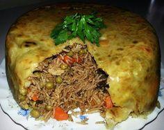 kurdish Food - Parda plaw